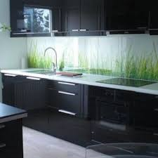 captivating black color l shape kitchen cabinets with wall mounted