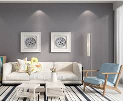 Livingroom Wallpaper Aliexpress Com Buy Haokhome Solid Color Non Woven Wallpaper Dark