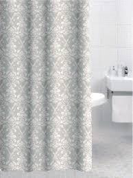 Yellow Damask Shower Curtain White Damask Shower Curtain Foter
