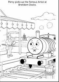 amazing percy thomas friends coloring pages thomas