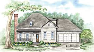 Southern Style House Plans by Thompson House Plan House Plans By Garrell Associates Inc
