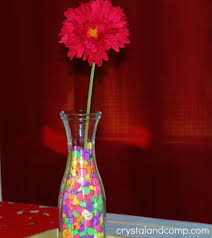 Decorate A Vase Valentine Decor Decorating With Heart Candy Crystalandcomp Com