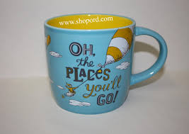 oh the places you ll go graduation hallmark graduation mug dr seuss oh the places you ll go holds 17