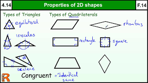 3 Dimensional Shapes Worksheets 4 14 Properties Of 2d Shapes Basic Maths Core Skills Level 4