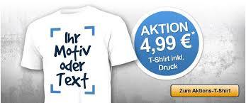 selbst designen t shirt selbst gestalten testaktion für nur 4 99 eur