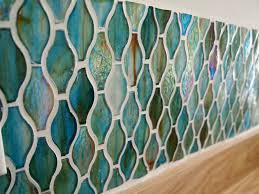 kitchen nice sea glass backsplash to protect your kitchen and