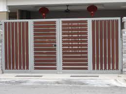 Image result for stainless steel sliding gate design