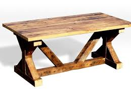 handmade picnic table and dining room table by ivy league dropout