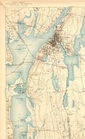 map of ma and ri fall river ma ri quadrangle
