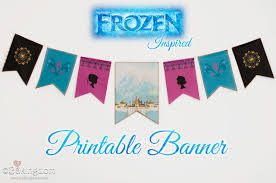 printable frozen images frozen printable banner