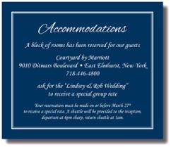 insert cards beautiful wedding announcements