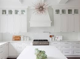 Arabesque Backsplash Tile by White Glass Arabesque Backsplash Tiles Transitional Kitchen
