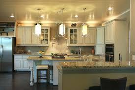 kitchen roller door cabinet fancy glass ball ceiling lamp brown