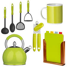 lime green kitchen accessories at achica com my kitchen