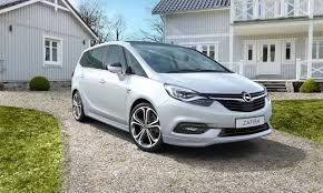 opel minivan opel zafira 7 seater family car opel ireland