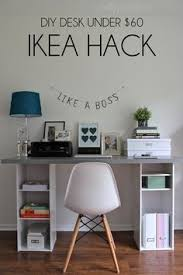 ikea hack desk diy for under 60 diy desk ikea hack and ikea hacks