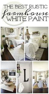 is white paint still the best wall color living room the best rustic farmhouse white paint liz marie blog