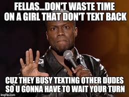 Kevin Hart Texting Meme - kevin hart imgflip