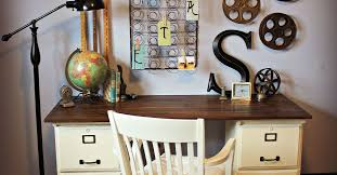 Using Kitchen Cabinets For Home Office Desk With File Cabinet Office Furniture You U0027ll Love Wayfair