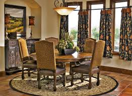 rustic dining room decorating ideas brown varnishes solid wood