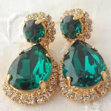 Sparkly Chandelier Earrings Best Emerald Chandelier Earrings Products On Wanelo