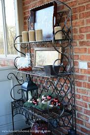 Wall Mounted Bakers Rack Best 25 Bakers Rack Decorating Ideas On Pinterest Bakers Rack