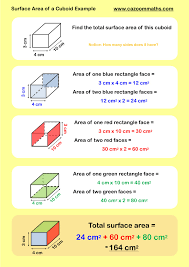 volume and surface area cazoom maths worksheets