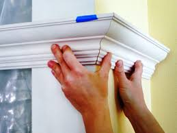 cabinet outside corner molding how to cut crown molding outside corners for cabinets 1420860813003