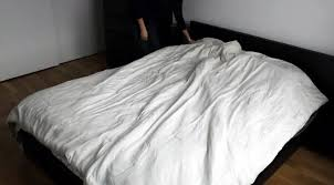 Duvet Corner Clips The Duvet Burrito How To Put A Duvet Cover On Your Comforter The