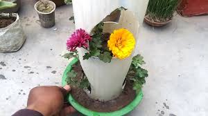 Homemade Flowers 187 Live Flower Design Stand Homemade Flowers Pot Youtube