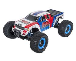 monster jam toy trucks for sale rival rtr 1 8 brushless monster truck combo by team associated