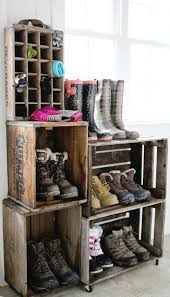 Ideas For Shoe Storage In Entryway Best 25 Boot Storage Ideas On Pinterest Storage For Boots Boot