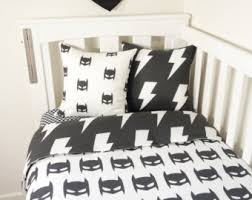 Batman Double Duvet Cover Batman Bedding Etsy