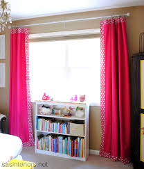 how to customize plain curtains embellishing decorate at home make
