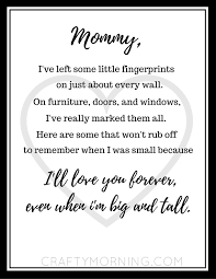 free s day fingerprint poem printable crafty morning