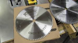 forrest table saw blades replacing stock miter saw blade with forrest chopmaster youtube