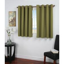 Yellow Grommet Curtain Panels by Grommet Sage Curtains U0026 Drapes Window Treatments The Home