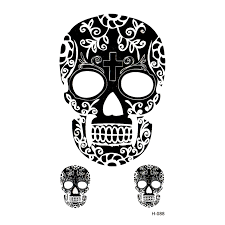 buy women skull tattoos and get free shipping on aliexpress com