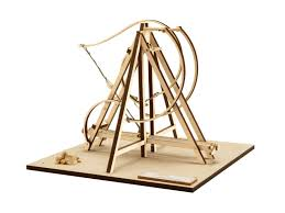 revell 00506 leonardo da vinci 1 72 scale ballista wooden model