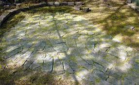 Flagstone Patio On Concrete by How To Build A Flagstone Patio Designs For Flagstone Patio