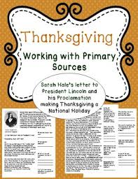 thanksgiving using primary sources by world s okayest tpt