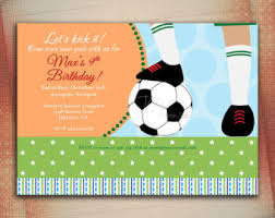 card invitation samples soccer birthday cards invitation or