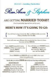 wording on wedding programs program help wording for ffil s weddings do it
