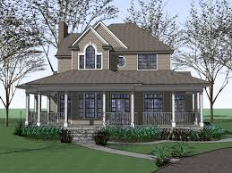 farmhouse floor plans with wrap around porch two country house plans with wrap around porch lovely house