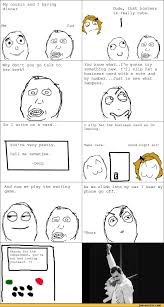 Derp Meme Comic - my cousin and i having dinner me cuz dude that hostess is really