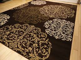 Brown Area Rugs Large Premium High Quality Rug Area Rugs 8 11 Clearance 100