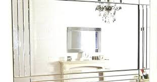 wall mirrors medium size of mirrors frameless beveled mirror