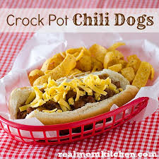 crock pot chili dogs real mom kitchen