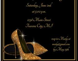 diamond shoes birthday invitation by fabpartyprints