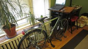 Diy Bike Desk How To Make A Bike Desk